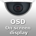 "Meniul OSD - ""On screen display"""