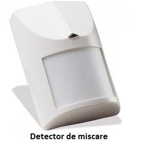 Detector miscare