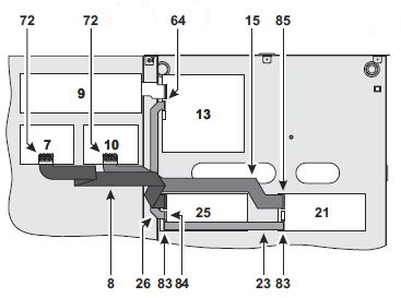 conectare-module-de-extensie-centrala-incendiu-j-424