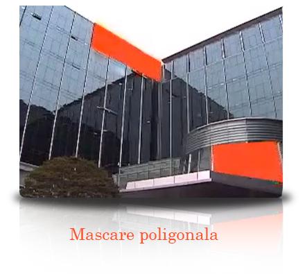 Mascarea privata standard si poligonala